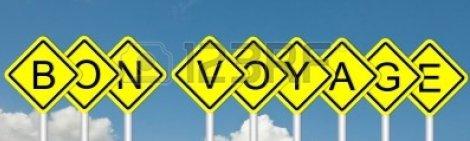 13209827-bon-voyage-road-sign-style